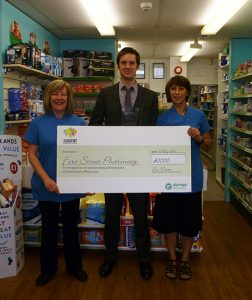 3 Fore Street Pharmacy, Topsham, Wins Award